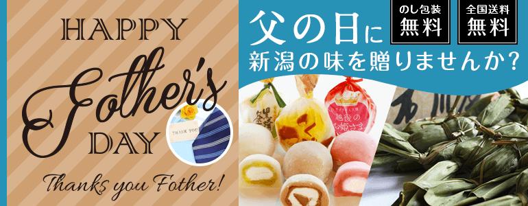 父の日に新潟の味を贈りませんか?のし包装無料 全国送料無料