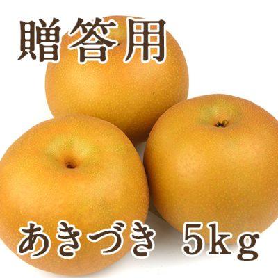 【贈答用】あきづき 5kg(8~16玉)
