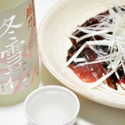 越乃冬雪花 純米吟醸 1.8l(1升)