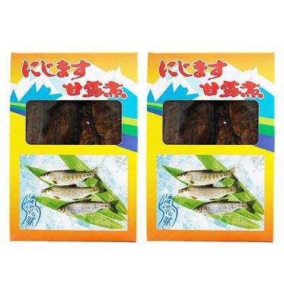 川魚の甘露煮 ニジマス 2箱