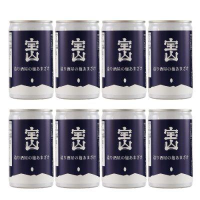 造り酒屋の麹甘酒(缶)180ml×8本