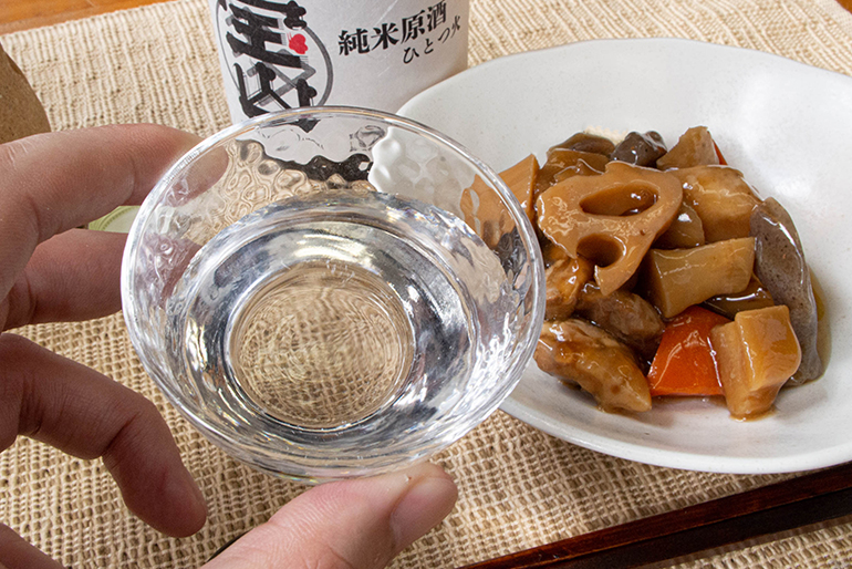 円熟した旨さと力強さを感じる純米原酒