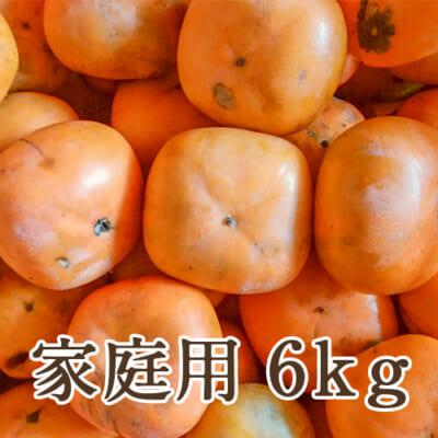 【家庭用】佐渡産 八珍柿 詰め合わせ6kg