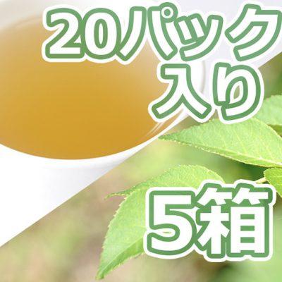 タラの葉茶 20パック入り×5箱