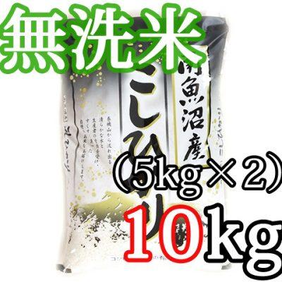 南魚沼 塩沢産コシヒカリ 無洗米10kg(5kg×2)
