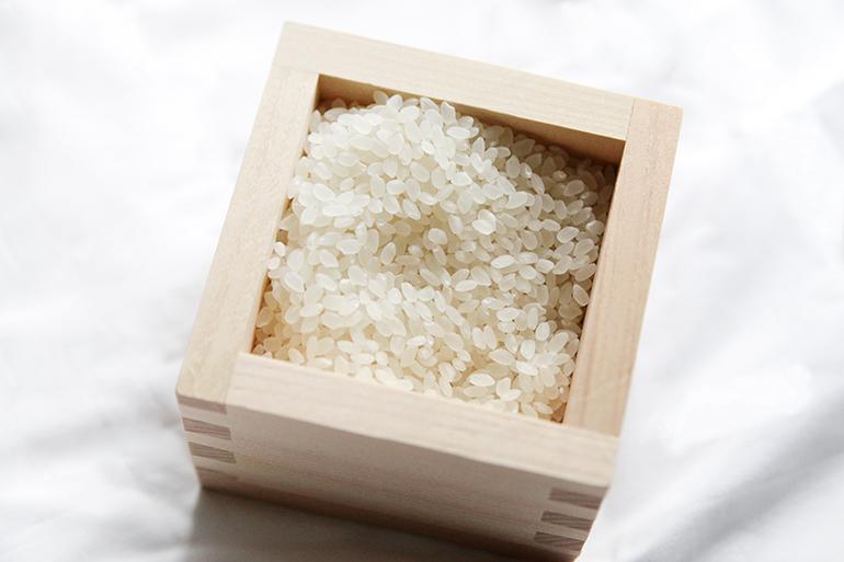 総生産量の約0.3%の希少なお米