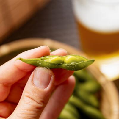 黒埼茶豆はコクの深さと風味の濃さが格別!