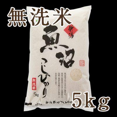 魚沼産 コシヒカリ 無洗米 5kg