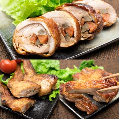 新潟県産鶏の惣菜 3点Aセット