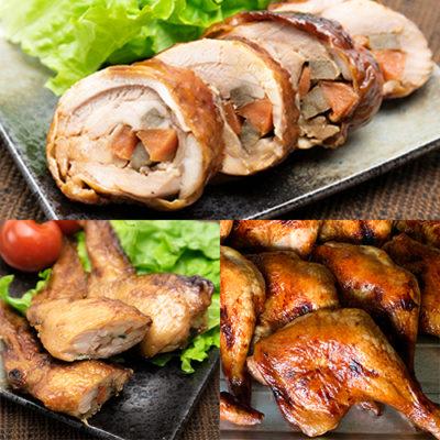新潟県産鶏の惣菜 3点Bセット