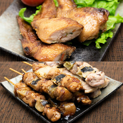 新潟県産鶏の惣菜 2点Dセット
