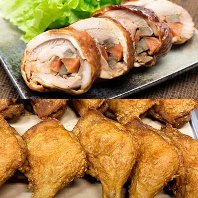 新潟県産鶏の惣菜 2点Fセット