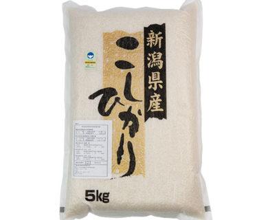 令和元年度米 新発田産コシヒカリ(特別栽培米)
