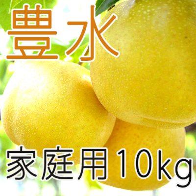 【家庭用】豊水10kg