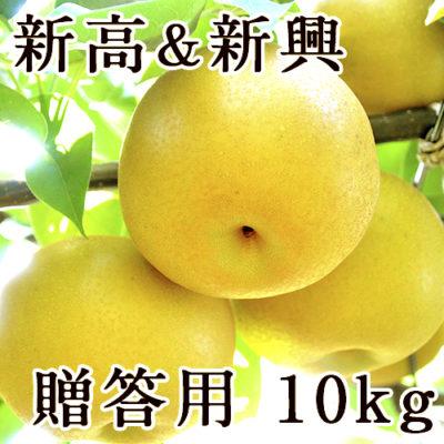 【贈答用】梨アソート 新高&新興 10kg
