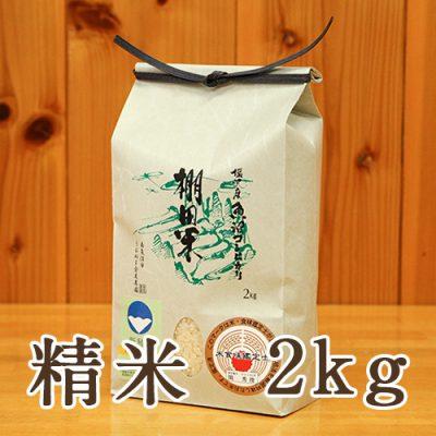 塩沢産 棚田米 コシヒカリ 精米2kg