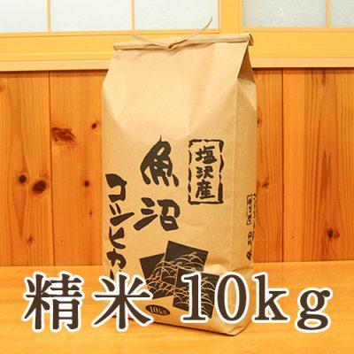 塩沢産 コシヒカリ 精米10kg