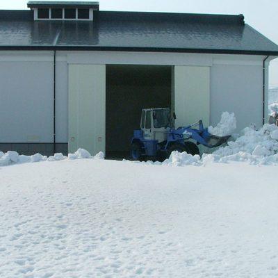 雪室は温度と湿度を一定に保てる天然の冷蔵庫