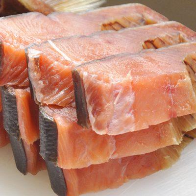 塩引鮭の切り身