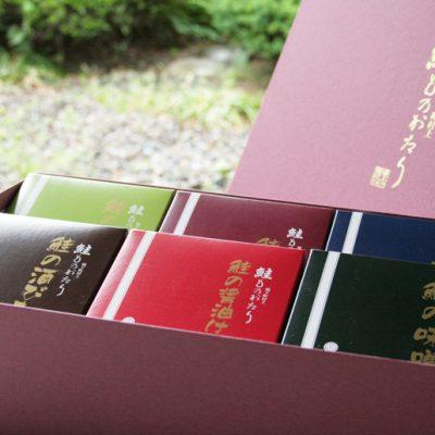 鮭ものがたり6品(塩・焼・味・か・醤・酒)