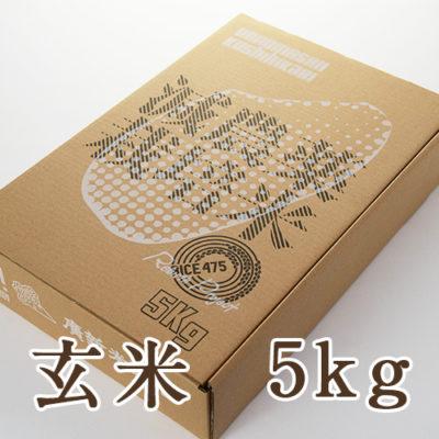 南魚沼産コシヒカリ 玄米5kg(ギフトボックス入り)