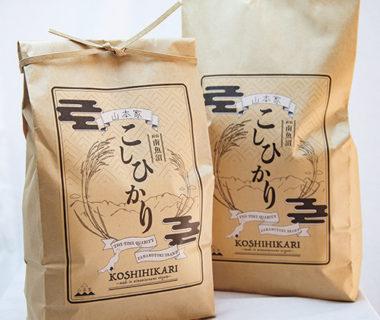 30年度米 南魚沼産コシヒカリ(従来品種)