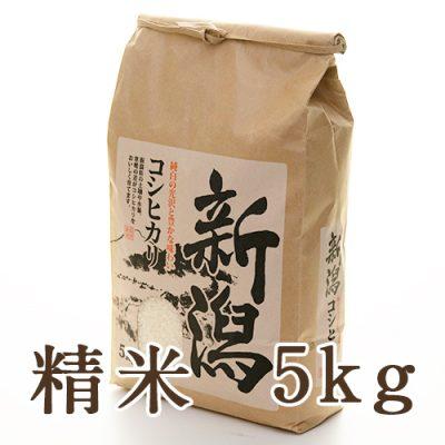 上越産 はさがけ米 コシヒカリ 精米 5kg
