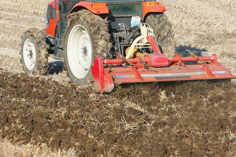 自然由来の肥料で稲を強く育てます