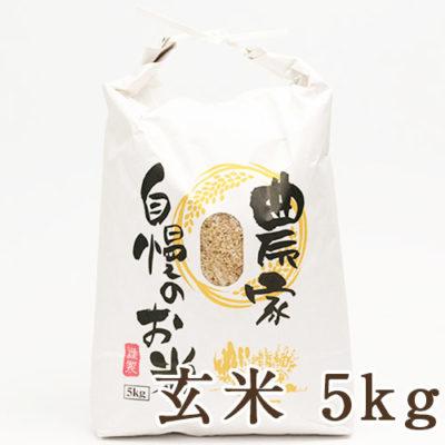 魚沼産コシヒカリ 玄米5kg