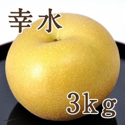 幸水 3kg(5~10玉)