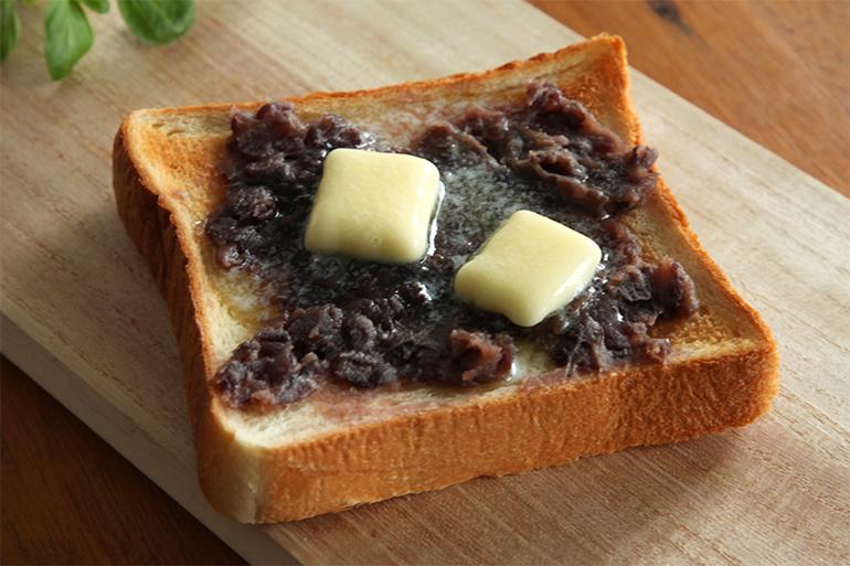 2.とびきり美味しいあんバター!