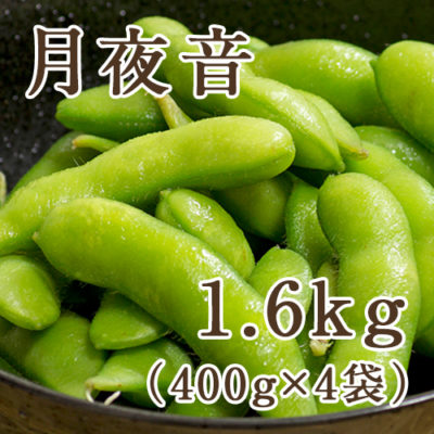 枝豆 月夜音 1.6kg(400g×4袋)