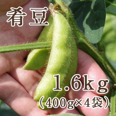 枝豆 肴豆 1.6kg(400g×4袋)
