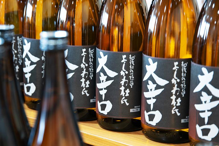 強い辛口感が通に人気の日本酒