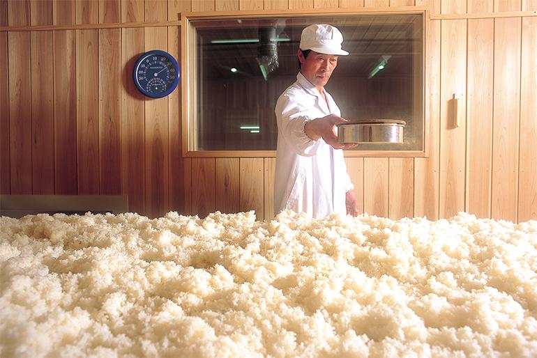 旨味ある食用米を原料に使っためずらしい酒