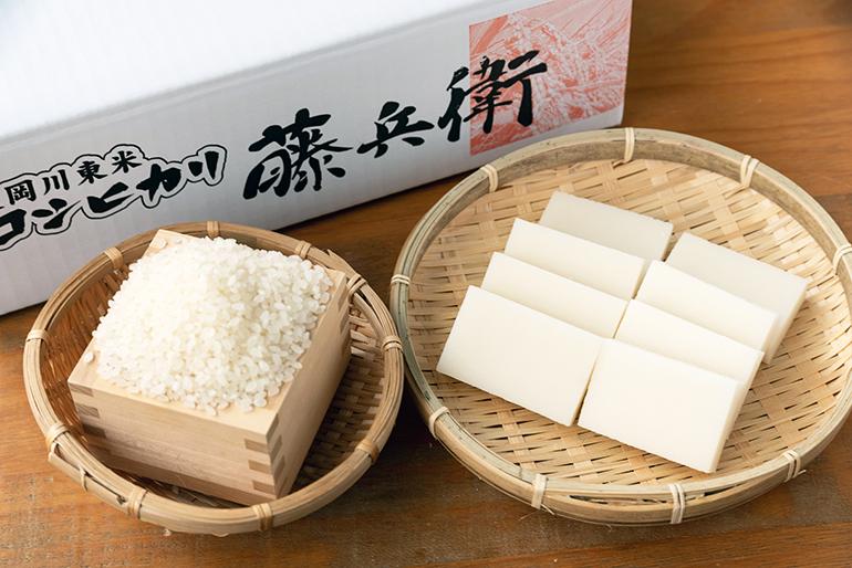 特別栽培米で作った美味しいお餅とお米をお届けします