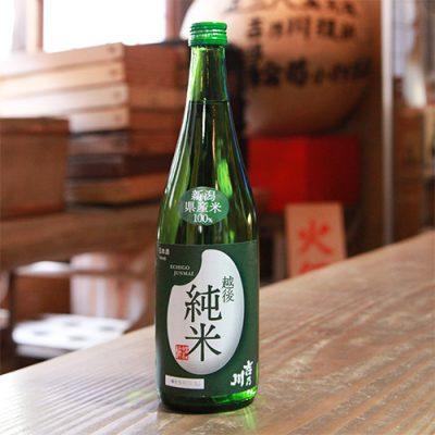 吉乃川 越後純米 1.8l(1升)