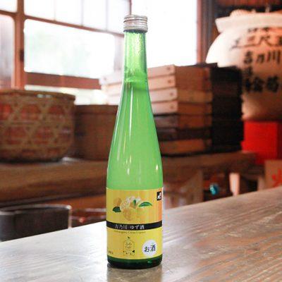 吉乃川 Sake Cafe ゆず酒 500ml